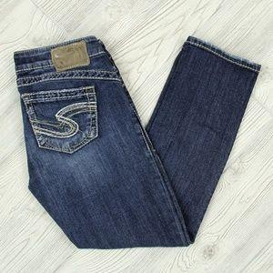 Silver Tuesday 16.5 Capri Jeans Sz W27 (28 x 25)